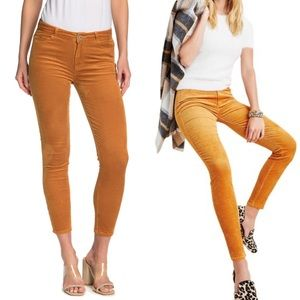 New PAIGE Hoxton Ankle Skinny Corduroy Pants